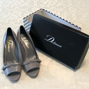 Delman Gray Heels